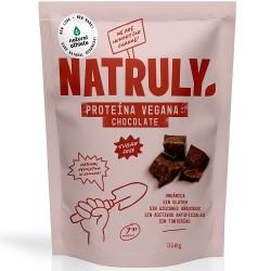 Proteina vegana sabor chocolate Natruly