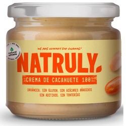 Crema de cacahuetes bio Natruly 300 g