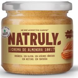 Crema de almendra tostada Natruly 300 g