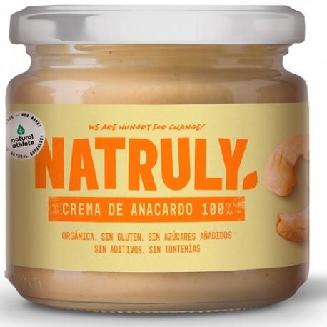 Crema de anacardos tostados Natruly 300 g