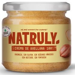 Crema de avellanas tostadas Natruly 300 g