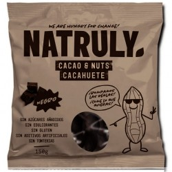 Cacahuetes con chocolate Natruly